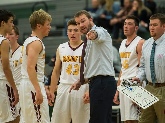 The Rocky Mountain boys basketball team hosts Fort Collins at 7:30 p.m. Tuesday.