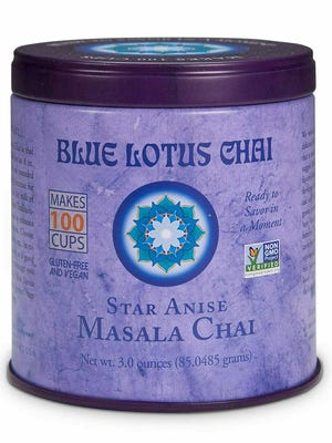 """Blue Lotus Chai has won its second """"sofi"""" award, this time for its Star Anise Masala Chai"""