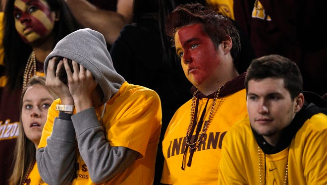 Some fans are not happy about ASU's new face-paint policy for athletic events.
