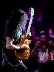 Slash at the Celebrity Theatre in Phoenix, Saturday, Dec. 9, 2017.