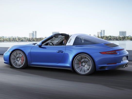 Porsche's new 911 Targa 4S