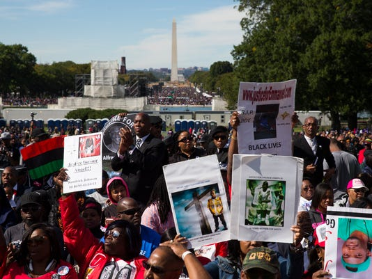 AP MILLION MAN MARCH ANNIVERSARY A USA DC