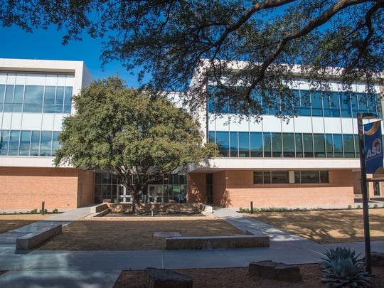 Angelo State University's Archer Health and Human Services Building opened for classes Jan. 16, 2017.