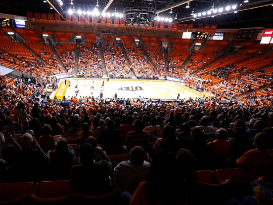 The office of the WNIT reported that the crowd of 5,023 that attended Monday night's game between UTEP and Arkansas State at the Don Haskins Center was the largest crowd in a second round game of the tournament. The next closest crowd was in Minnesota, with about 3,300 fans in attendance. Thursday night's game between the UTEP Miners and the TCU Horned Frogs is expected to be a much larger one with ticket sales all week being very strong. The game is scheduled to tip off at 7:05 p.m., with doors opening at 6 p.m.