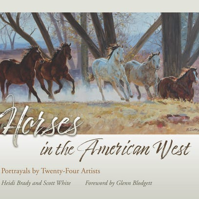 """Horses of the American West: Portrayals by Twenty-Four"