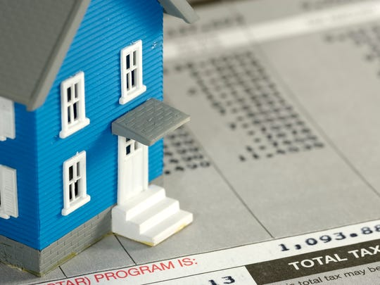 Property taxes.