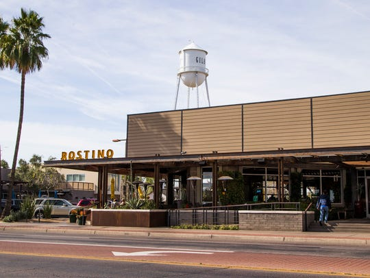 This is Postino Winecafe in downtown Gilbert, Feb.