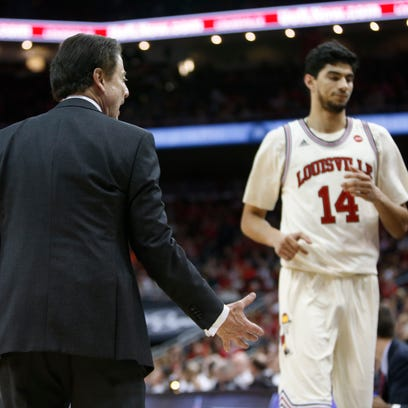 Louisville coach Rick Pitino had a word for center