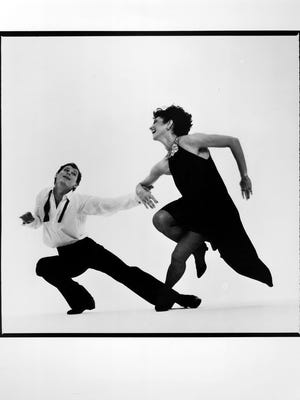 """At the premiere of """"Nine Sinatra Songs"""" in 1982, by Twyla Tharp"""