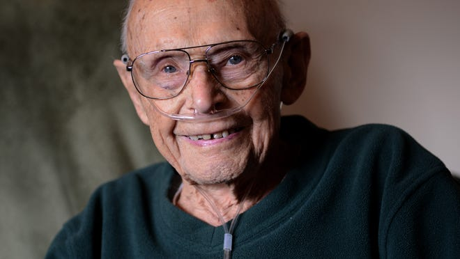 Steve Kuchta recently celebrated his 104th birthday.