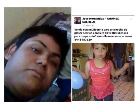 ofrecen niña facebook