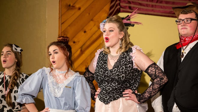 """Anderson Union/West Valley High Schools' """"Old West Dinner Theatre"""""""