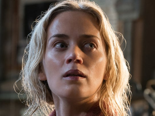 "Emily Blunt stars in ""A Quiet Place."""