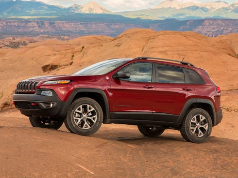 Chrysler's delayed new 2014 Jeep Cherokee -- its most important launch this year -- finally arrived at dealers late in October and recorded its first 579 sales.