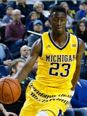 Michigan's Caris LeVert.