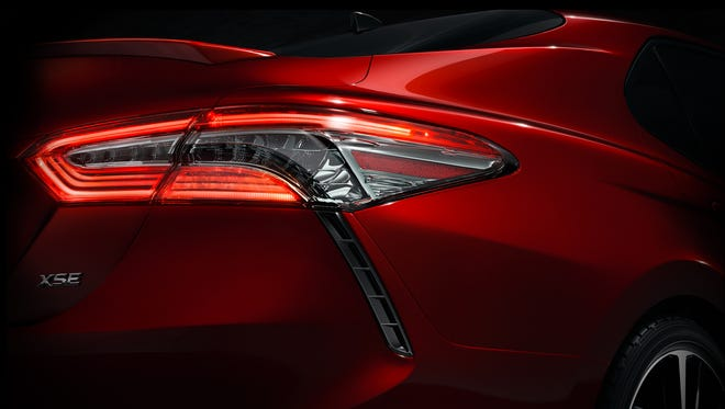 The 2019 Toyota Camry will debut at the North American International Auto Show in Detroit next month.