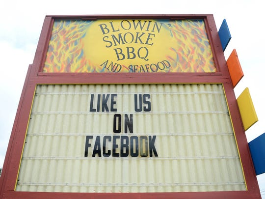 Blowin' Smoke located in Princess Anne, Md. on Friday, June 1, 2018.