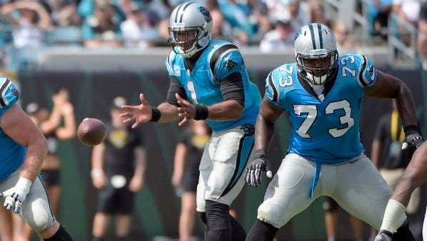 Carolina quarterback Cam Newton has been a model citizen with the Panthers since leaving college.