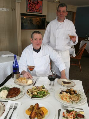 Executive chefs and co-owners Ralph Croteau and Dave Tuttle opened Ralph and Dave's in Verplanck last summer.