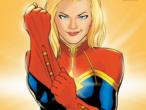 """The heroine from the """"Captain Marvel"""" comic is getting"""