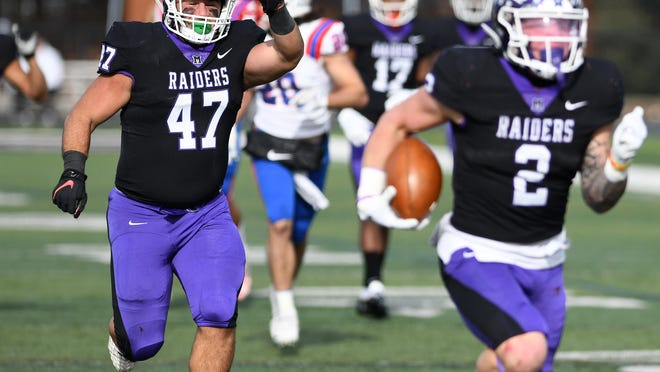 Hanover at Mount Union - Division III College Football Playoffs, Nov. 23, 2019.