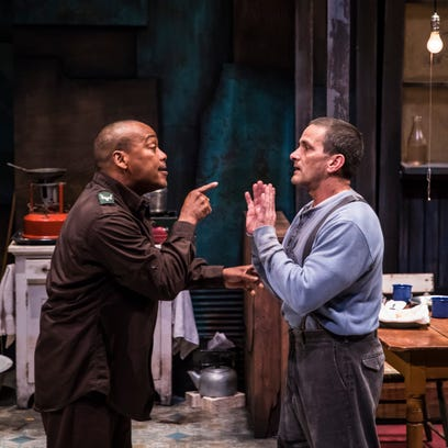 American Players Theatre's casting of a white actor as a black man in 'Blood Knot' stirs controversy