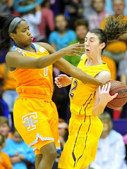 Jordan Reynolds has started more games than any other Lady Vol this year.