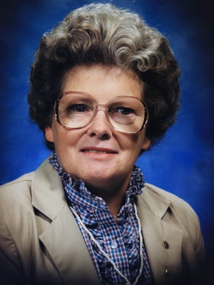 A family photo of Geraldine Montgomery who was killed in Kalkaska in1996.