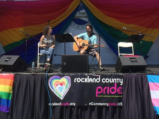 Performers take the stage at the Rockland County Pride Festival in Nyack on Sunday, June 12, 2016.