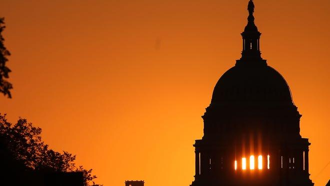 The U.S. Capitol in 2013.
