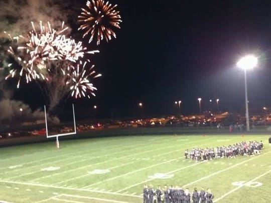 Fireworks have been part of the Friday night lights