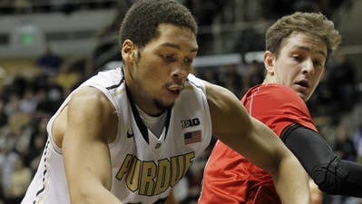 A.J. Hammons is one of several underperforming Boilermakers right now.