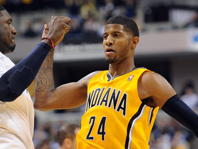 SG Paul George - drafted in the first round (10th pick overall) in the 2010 NBA draft.