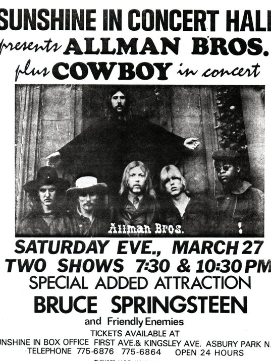 Allman Brothers poster