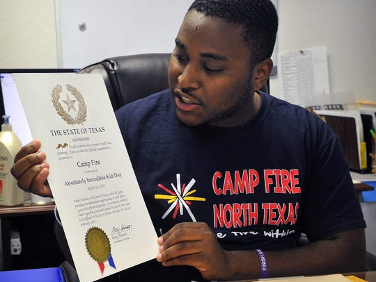 Nathan Alexander III of Camp Fire North Texas describes how easy and meaningful it is to write a letter for Absolutely Incredible Kids Day, Thursday, March 15.
