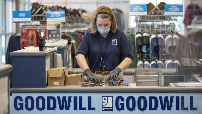 Thrift stores like Goodwill have safety precautions for shoppers and donors. Check them out online before visiting.