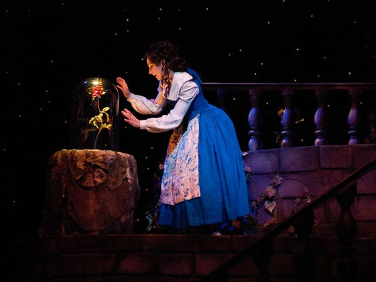 "Laura Shoop performs in ASF's 2006 production of ""Disney's Beauty and the Beast."""