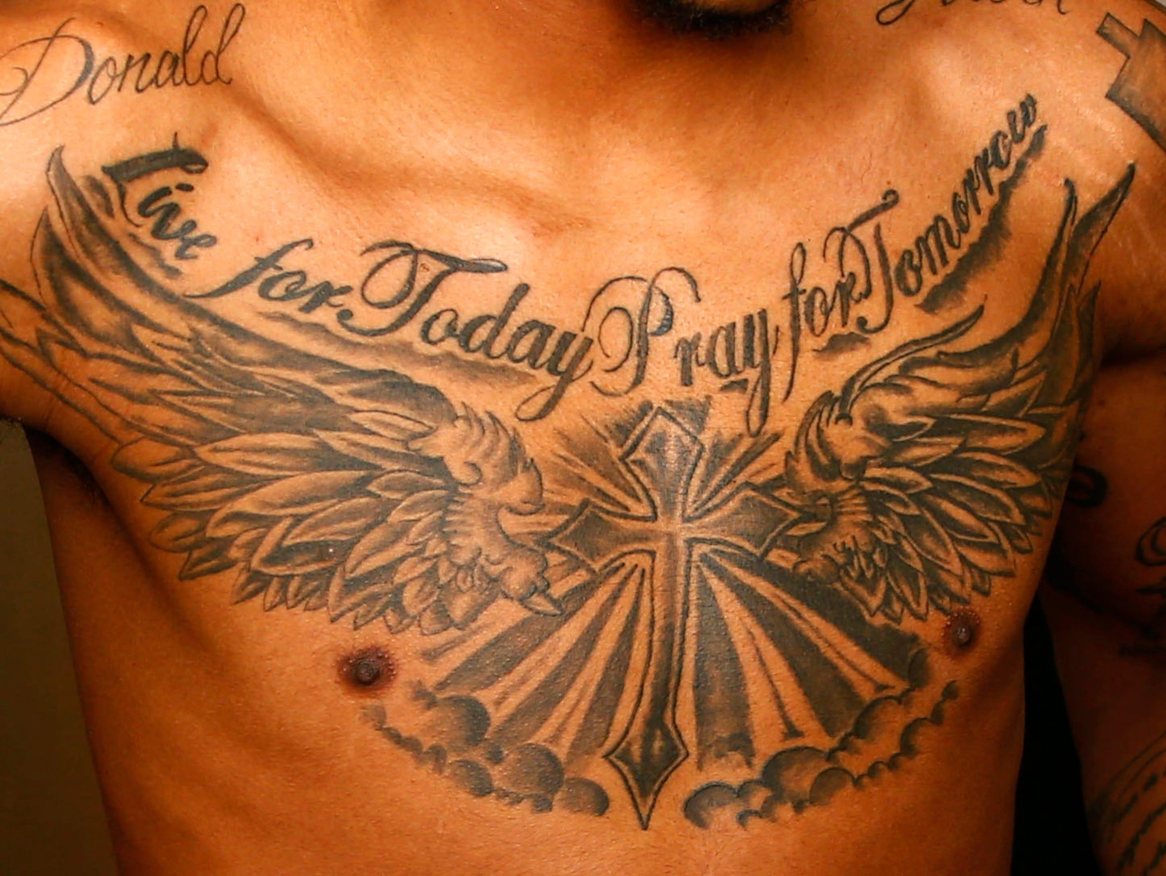 Big Chest Tattoo Designs