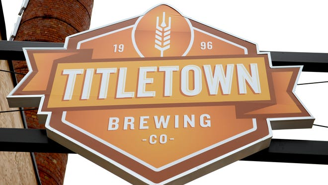 The new Titletown Brewing Company logo.