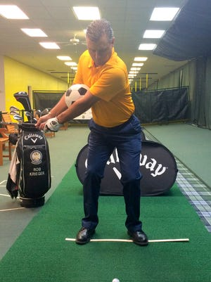 This week, Rob Krieger teaches golfers how to fix their chunk shots and bladed shots.