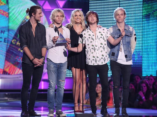 Rocky Lynch, Ross Lynch, Rydel Lynch, Ellington Ratliff, Riker Lynch
