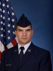 U.S. Air Force Airman 1st Class Warren C. Rockett.