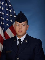 U.S. Air Force Airman Marcelo A. Garcia