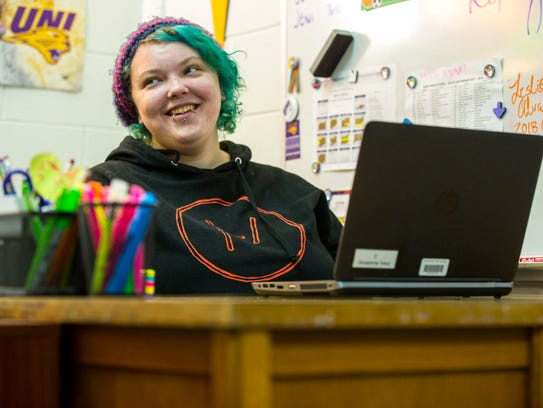 Keiana Smith found her a home in Des Moines North High