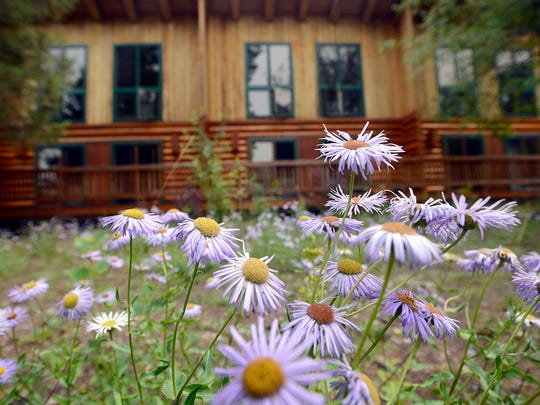 The Montana Island Lodge on Salmon Lake has 8,000-square-foot of deck.