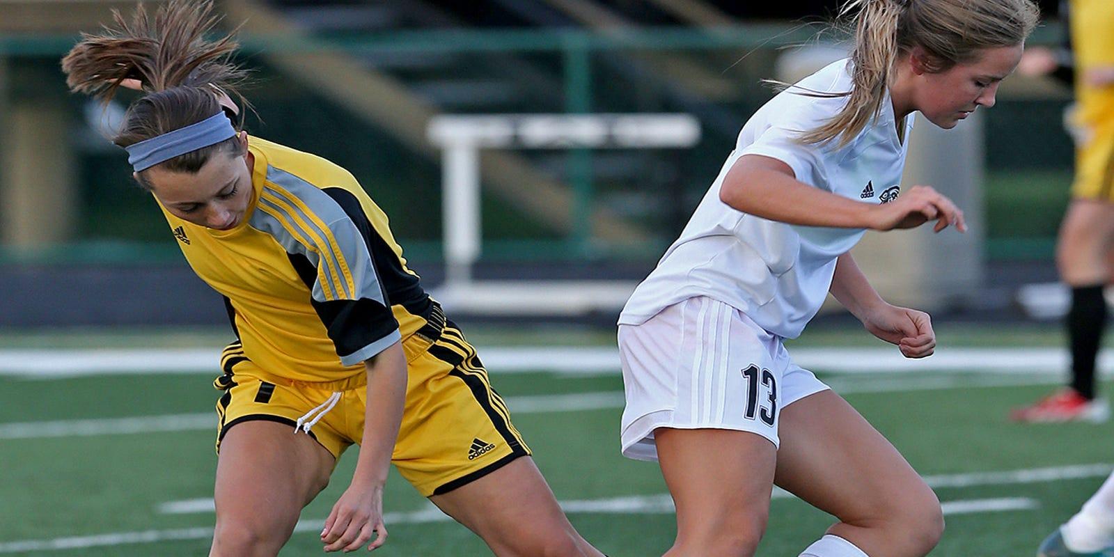 Alli Grimes friday's high school roundup: soccer, golf, tennis, track