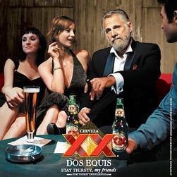 A Dos Equis ad about the Most Interesting Man in the World from 2007.