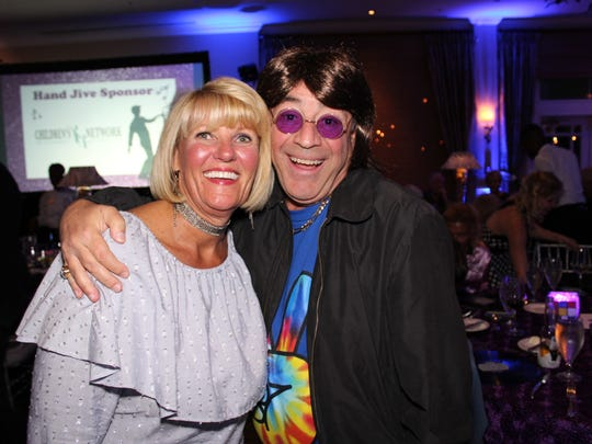 Dee and Bob Almond at the Boogie Bash gala in March