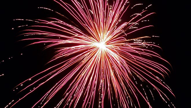 Fireworks in Greece will start at 9:45 p.m.