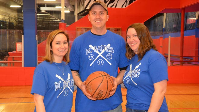 (L-R) Nikki Asher, Jesse Volstromer and Heather Volstromer created the BC Batters in 2015, a non-profit that provides access to sports to children with special needs.